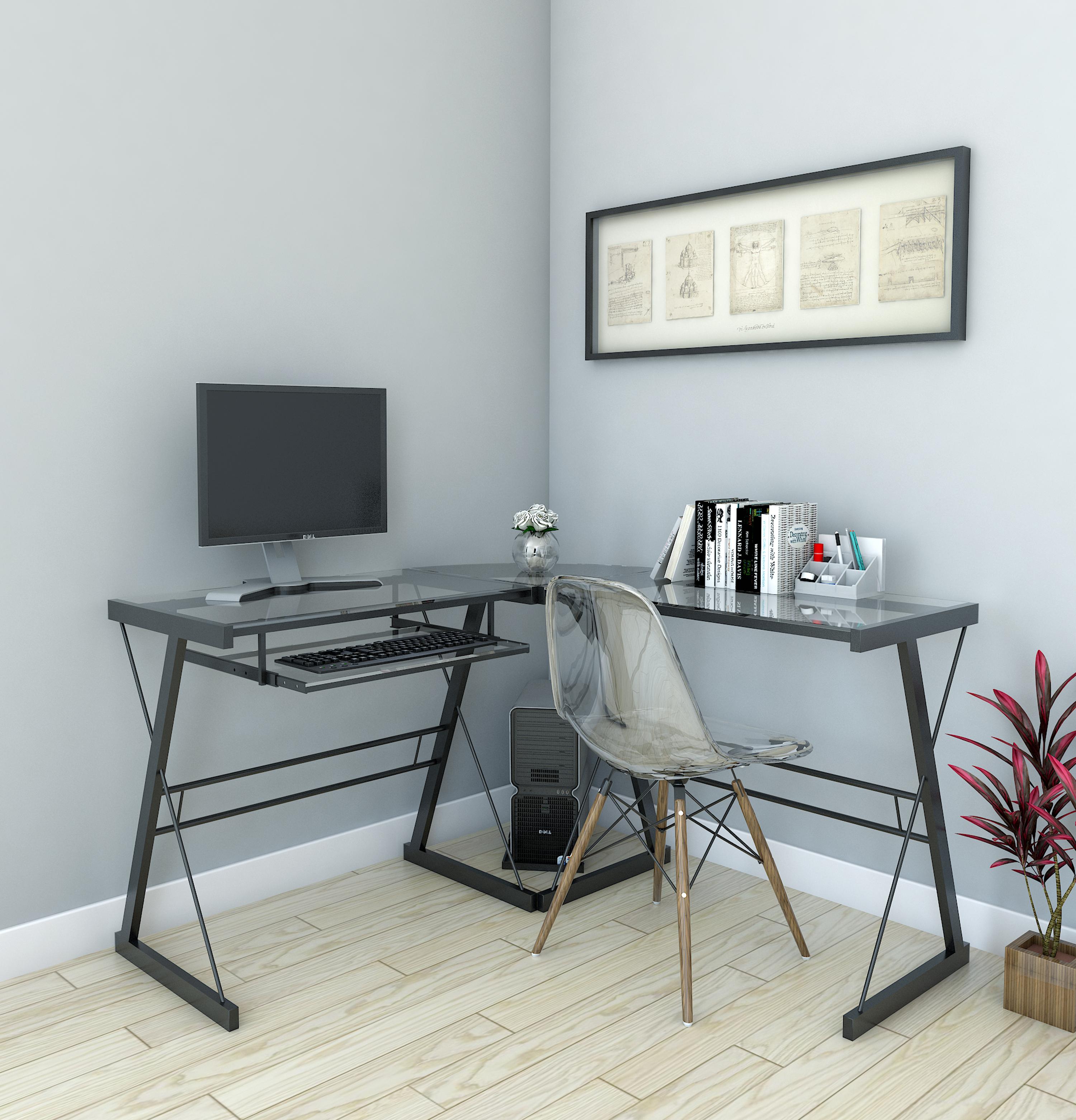 of unique computer fice modern with new lamp hutch l shaped desks desk in premium and
