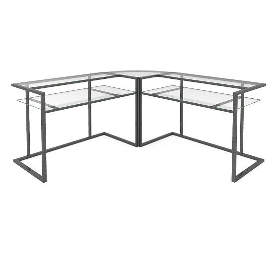 Belmac 3 Piece Corner C Frame L Shaped Computer Desk